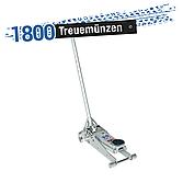 VIGOR Hydraulik Alu-Rangier-Wagenheber 1,35t V2481 ∙ Gesamtlänge: 500 mm