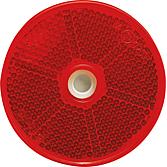 Rückstrahler Ø 60 mm, mit Kleberücken