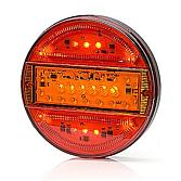 LED Drei-Kammerleuchte rund 12/24V