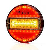 LED Fünf-Kammerleuchte rund 12/24V