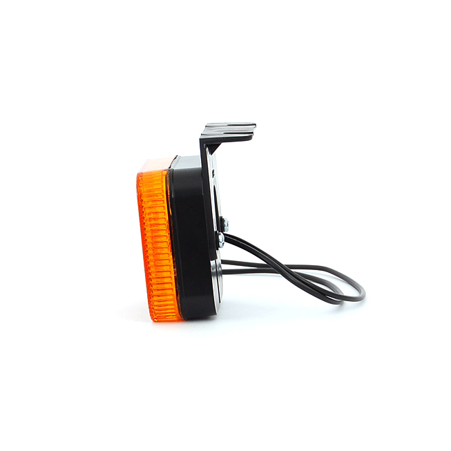 LED-Seitenmarkierungsleuchte mit Winkel und Kabel 24 V für MAN