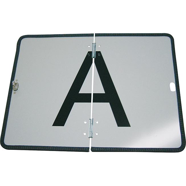 A-Gefahrentafel Abfallgefahrentafel