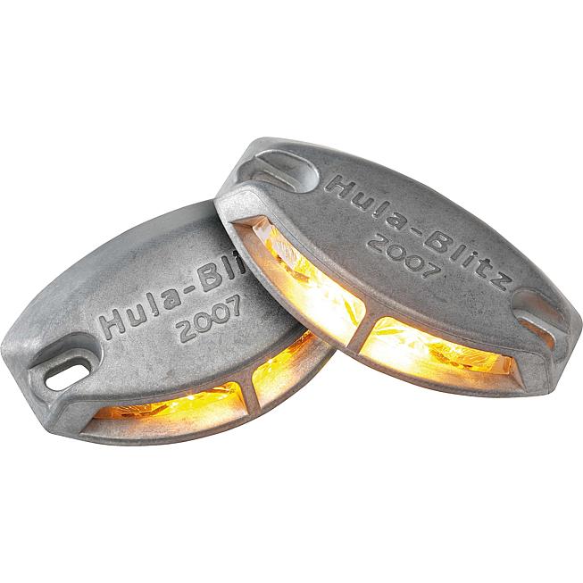 Blitz-Warnblinkleuchte mit 2 LED's