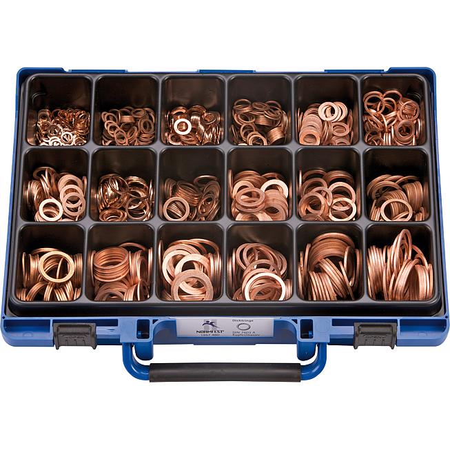 Kupfer-Dichtringe-Sortiment