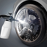 Druckpump-Sprühflasche für säurehaltige Flüssigkeiten
