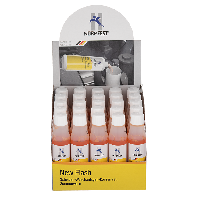 Scheiben-Waschanlagen-Konzentrat New Flash