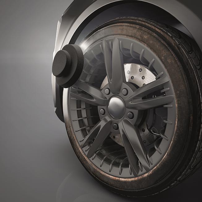 Silikonhaltige Reifenpflegecreme New Wheel Protect
