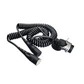 Adapter-Spiralkabel 15-polig auf 2 x 7-polig