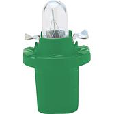 12 V 2 W Kunststoff Sockellampe grün
