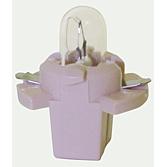 14V 1,2 W Kunststoff Sockellampe weiß