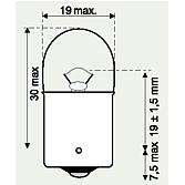 24V 5W Schlusslichtlampen HD (erschütterungsfest) Normlight