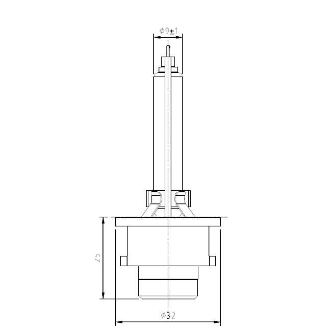 12/85V D2S 35W Xenon