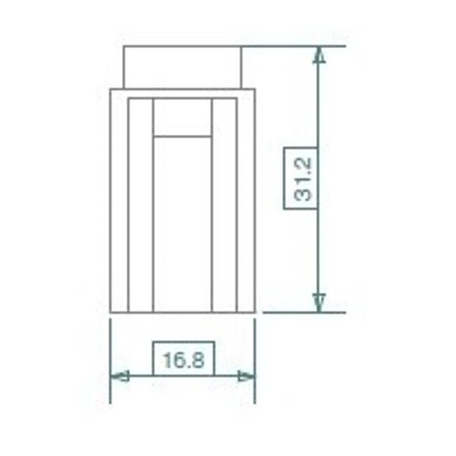 Flachsicherungshalter für Mini-Stecksicherungen