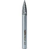Hartmetall-Fräser Spitzbogenform 6mm