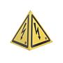 Tetraedrisches Warnzeichen