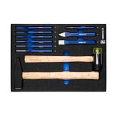 Hammer, Meißel und Splintentreiber-Set
