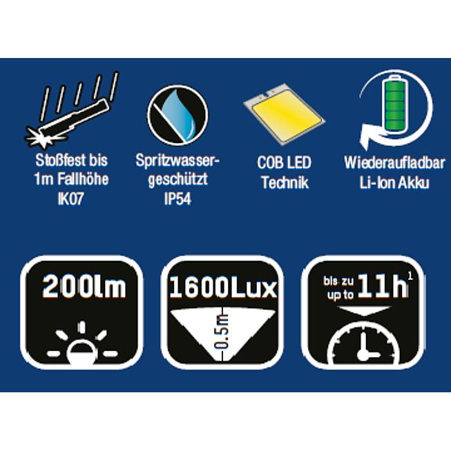 LED Werkstattleuchte UL 200