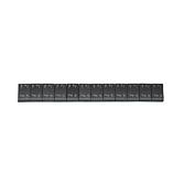 Stahl-Kleberiegel schwarz 60 g