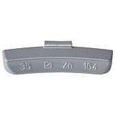 Schlaggewichte Zink für Stahlfelgen Typ 164