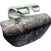 Schlaggewichte Blei für LKW-Felgen
