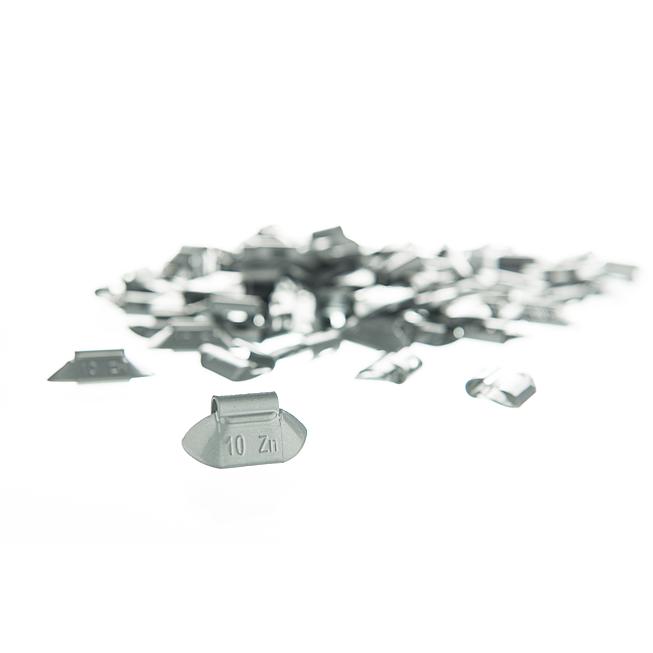 Schlaggewichte Zink für Stahlfelgen ECO