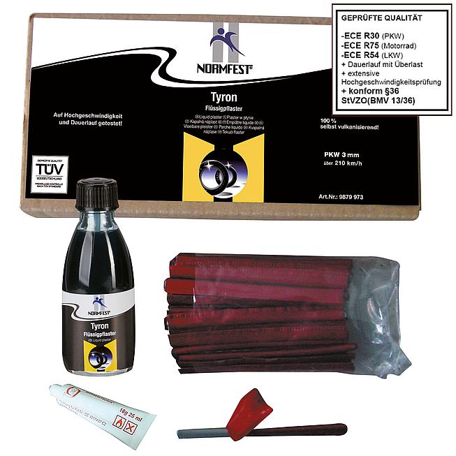 Tyron, Nachfüllpack für Reifen-Reparatur-Set
