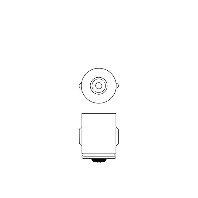 24V 3W Standlicht- und Anzeigelampe