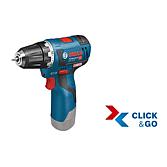 06019A4003;GSR 12V-20 + L-Boxx Clic&go