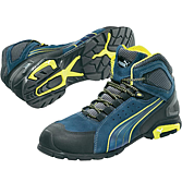 Puma Protect Stiefel Yellow Blue S1P