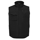 Heavy Duty Workwear Gilet Black