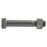 Sechskantschraube mit Mutter DIN 7990 / ISO 4032 4.6 FVZ / 5-2 FVZ