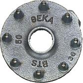 Holzverbinder einseitig DIN 1052 Temperguss vz