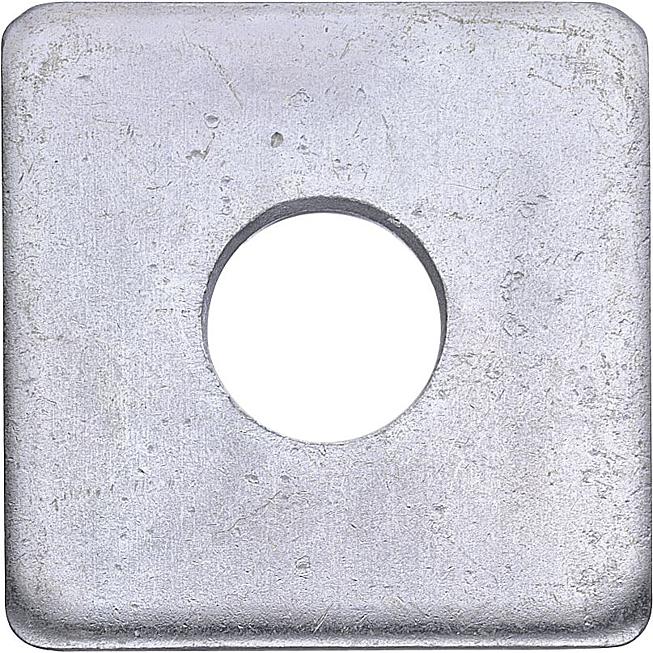 Vierkantscheibe DIN 436 vz, 100 HV